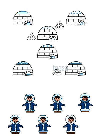 à faire moi-même patronen combineren - winter - wiskundig inzicht