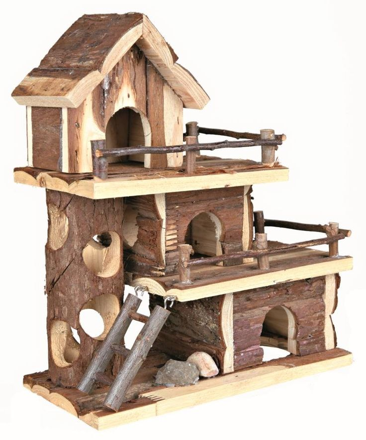 Trixie Natural Living Tammo House, 25 x 30 x 12 cm: Amazon.co.uk: Pet Supplies