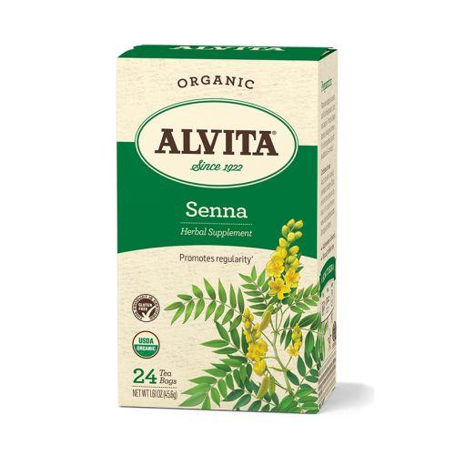 Senna tea- laxative, no more than  two cups  per day ....