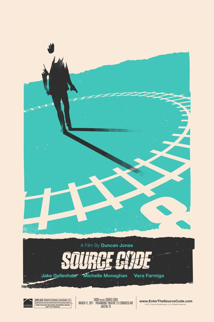Great SXSW Posters for Duncan Jones' MOON and SOURCE CODE from Olly Moss - News - GeekTyrant