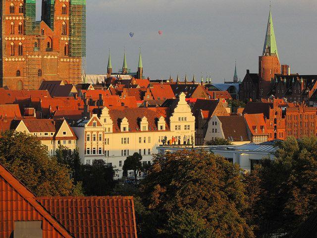 Ballone über Lübeck | von FrankRath1
