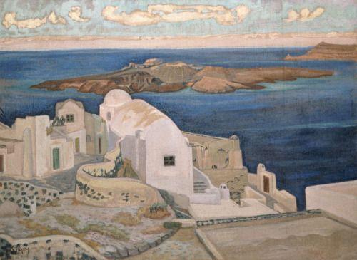 terminusantequem: Konstantinos Maleas (Greek, 1879-1928)...   Art Deco   Bloglovin'
