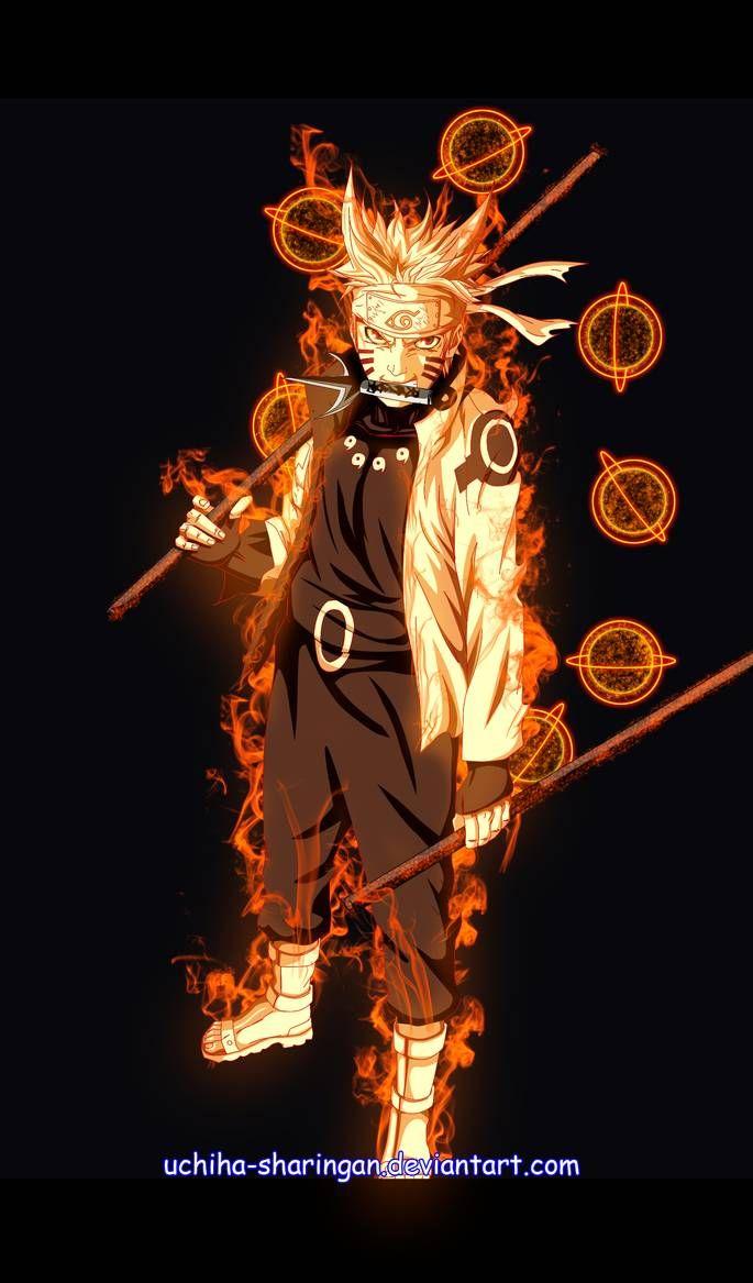 Naruto Rikudo Sennin Mode By Uchiha Sharingan Naruto Shippuden Anime Naruto Uzumaki Hokage Naruto Uzumaki