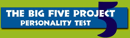 Big 5 free online personality test