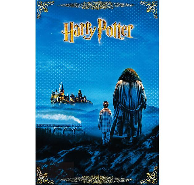 Harry Potter Poster Der Stein