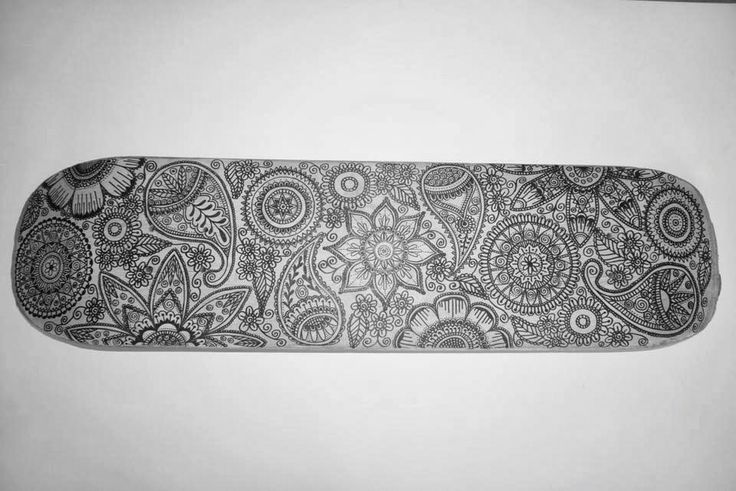 Mehndi Zentangle : Henna zentangle skateboard drawing skateboarding pinterest