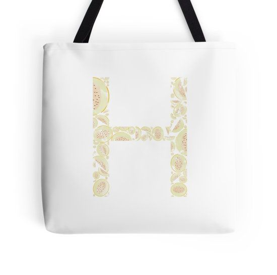 H for Honeydew Melon Happiness #redbubble #honeydew #melon #sale #summer #2016 #trends #bag #fashion #pink #colors #stickers #iphone #diy #pillow #home #design #creative