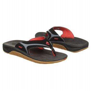 Reef Slap II Tod/Pre/Grd Sandals (Black/Red) - Kids