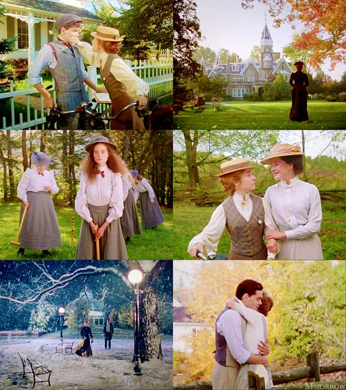 Anne of Green Gables: The Sequel (1987) - starring Megan Follows as Anne Shirley & Jonathan Crombie as Gilbert Blythe