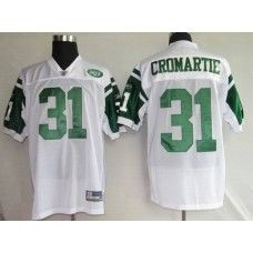 Jets #31 Antonio Cromartie Stitched White NFL Jersey