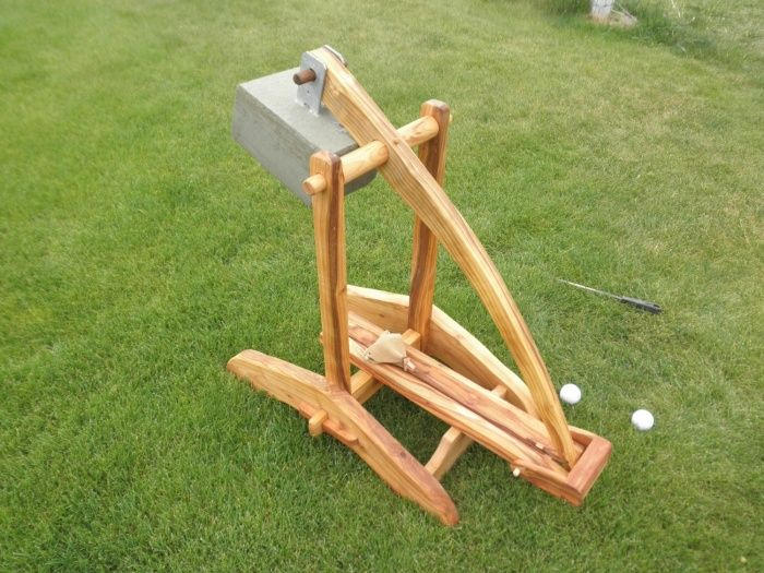how to build a miniature ballista