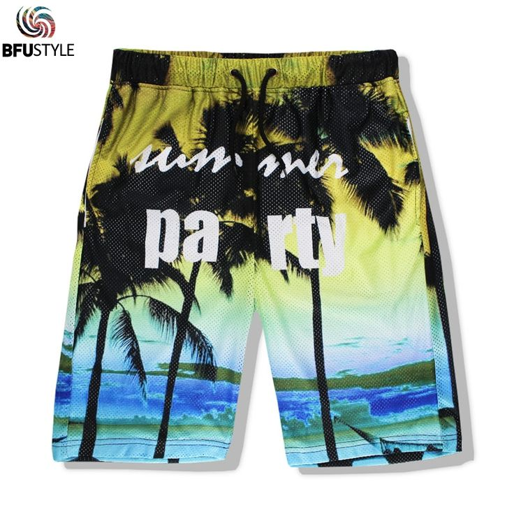 >> Click to Buy << Brand Summer Shorts Men Pantalones Cortos De Los Hombres 3D Printed Dolphin/Coconut Tree/Letter Party Beach Shorts Cargo Shorts #Affiliate