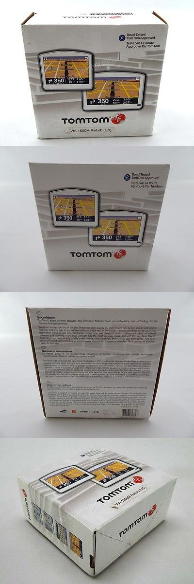 GPS Units: Tomtom Via 1500M , Lifetime Maps, Automotive Gps Receiver Mini Sd Slot -> BUY IT NOW ONLY: $59.99 on eBay!