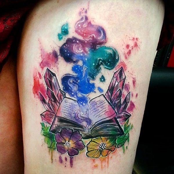 45 incroyables idées de tatouage de livres # incroyables # idées # tatouages   – Tattoo