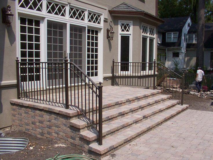 Best 20 Iron handrails ideas on Pinterest Wrought iron handrail