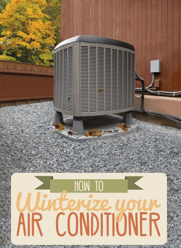 How To Winterize Your Air Conditioner Animated Infographic In 2019 Diy Air