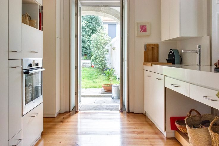 HomeLovers: kitchen with garden