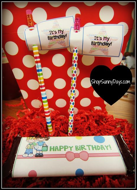 Celebrating student birthdays. Fun, free printables and lots of links from other teachers too.