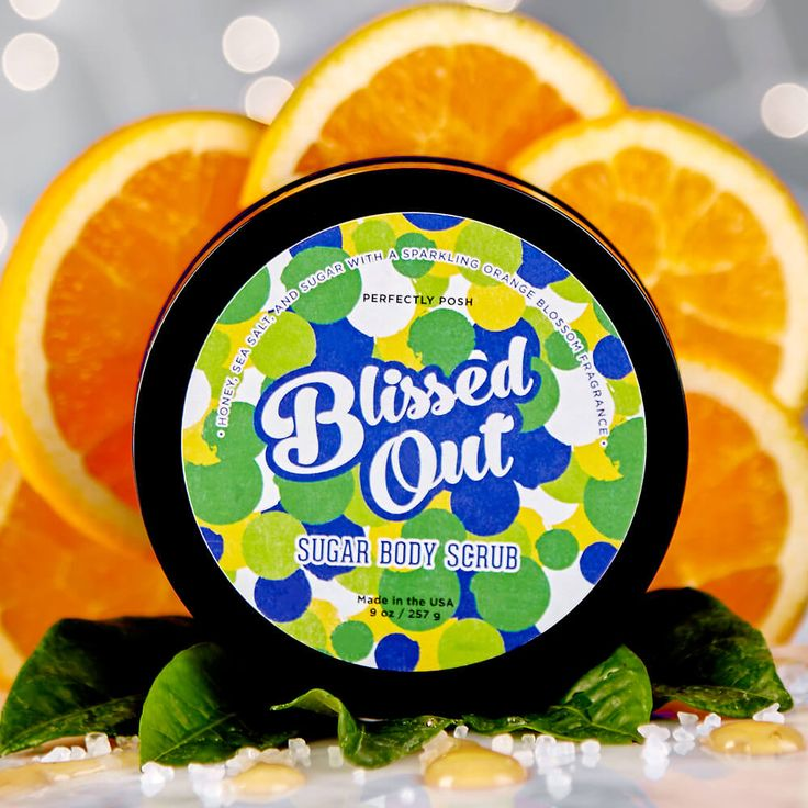 Blissed Out Sugar Body Scrub | Perfectly Posh