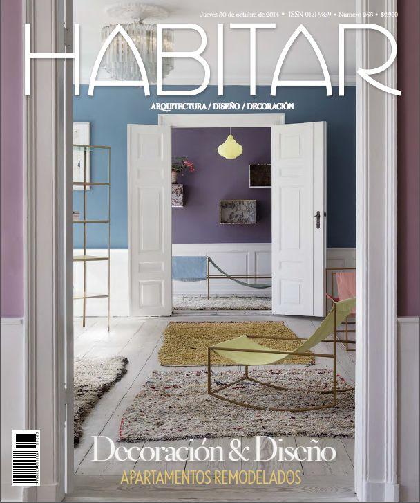 Decoración & Diseño. Apartamentos remodelados. Octubre 2014 Edición 263.