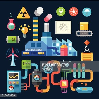 factory line vector - Google Search