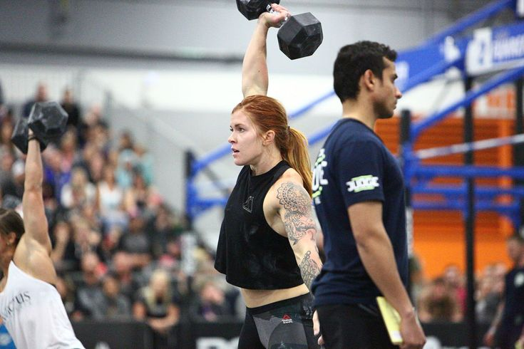 She made good on that promise but not without making fans tear a bit more hair out first, taking eighth on Event 5 and getting time-capped to boot. Abbott entered the final event in fifth with just 2 points between her and Carly Fuhrer in sixth.    But Abbott is a workhorse, and Event 6 was all grunt work: a 25-calorie Assault AirBike sprint, 20 burpee box jump-overs and 10, 100-lb. sandbag cleans. Abbott knew she needed a win and left nothing to chance.