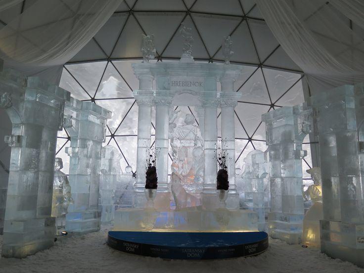 Ľadová katedrála - Hrebienok Vysoké Tatry Január 2016