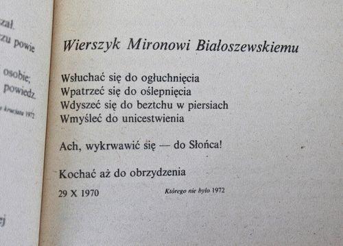 rafał wojaczek cytaty