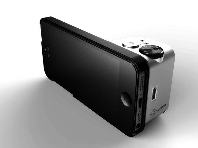 MUST HAVE! <3 A Snap-On iPhone Gadget That Adds Physical Camera Controls | Gadget Lab | Wired.com
