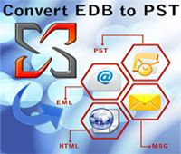 Download EDB to PST Converter Software that known for brilliant recovery and conversion of exchange EDB file to PST Outlook file with emails, contacts, calendars, task, notes, inbox items, outbox items, journals and appointments. Exchange EDB converter tool perfectly recover EDB files and convert EDB to PST, EML, MSG and HTML format.  Visit Here :- http://www.exchangeedbconverter.com/