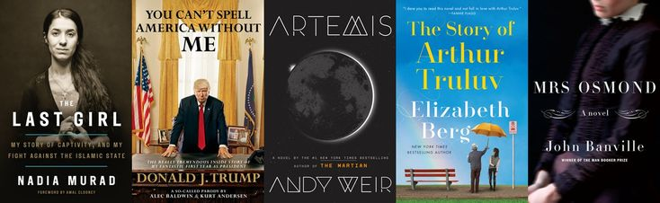 """The best books hitting shelves in November 2017 range from a spoof Donald Trump """"autobiography"""" to a continuation of Henry James's classic by John Banville."""