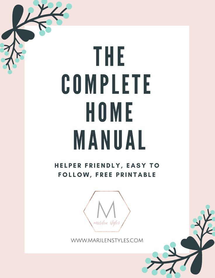 home planning and organizing tool