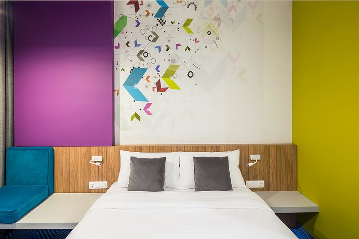 INTERIOR DESIGN OF HOTEL / ibis Styles Lviv by EC-5 Architects / Lviv Ukraine