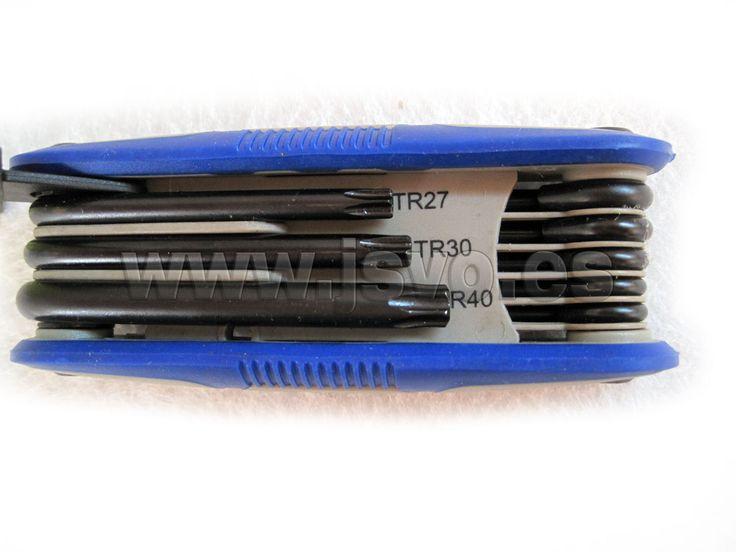 Juego 8 llaves Torx inviolables IRIMO 454-8-F #herramientas #bricolaje #taller #IRIMO