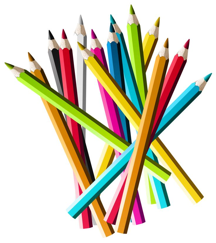 Colorful Pencils PNG Clipart Picture | Gallery Yopriceville - high-quality Images