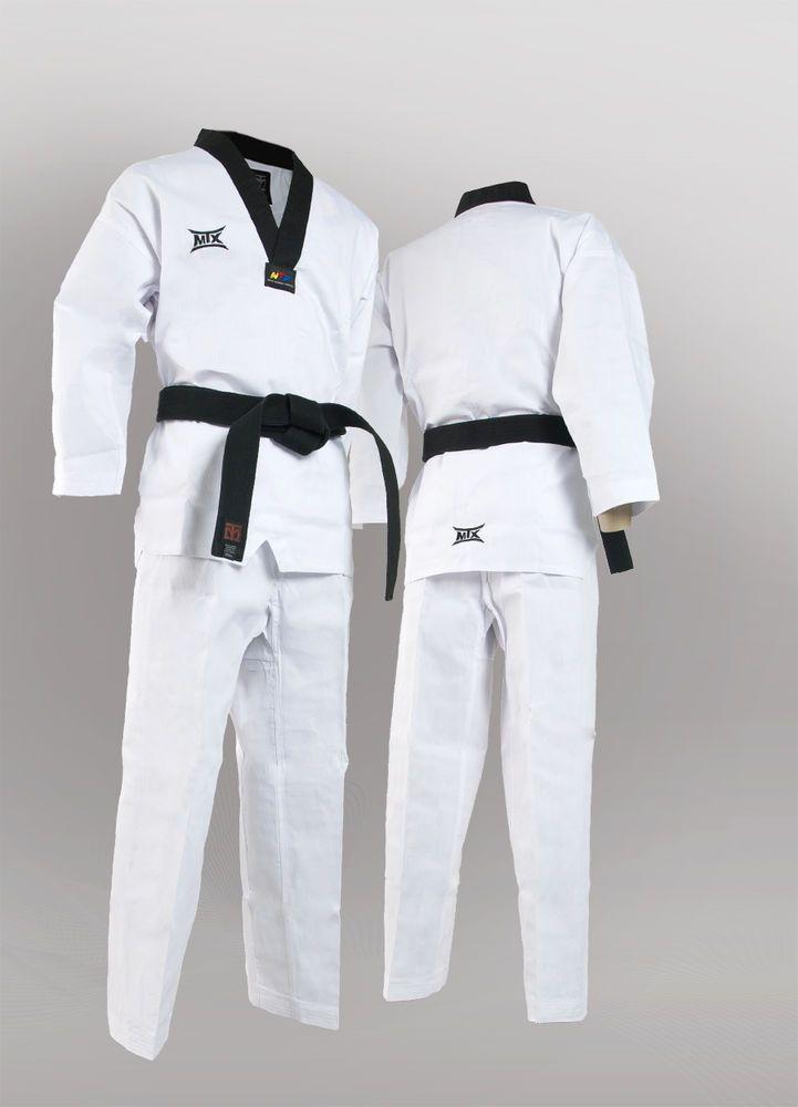 MOOTO MTX Basic Uniform Korean TaeKwonDo DAN DOBOK uniforms WTF Tae Kwon Korea #MTX