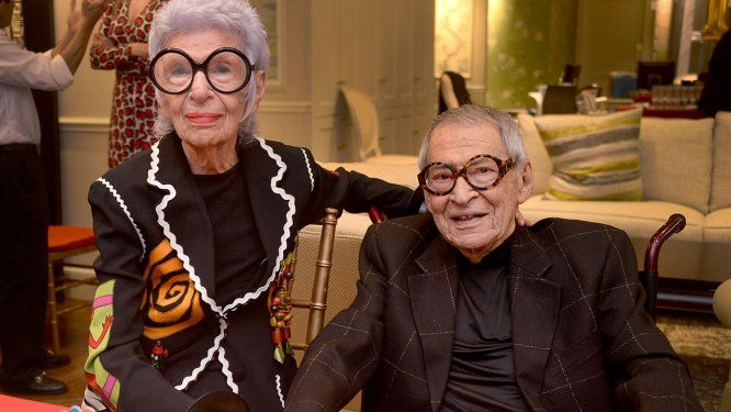Carl Apfel, who was married to style icon Iris Apfel and appeared in the documentary Iris, has died at 100. The cause of death was congestive heart failure, Pret-a-Reporter has confirmed.