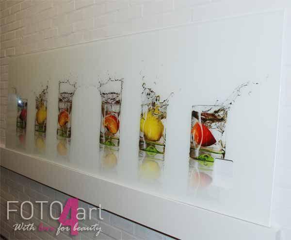 30 best Küche images on Pinterest Kitchen ideas, Live and Cook - wandpaneel küche glas