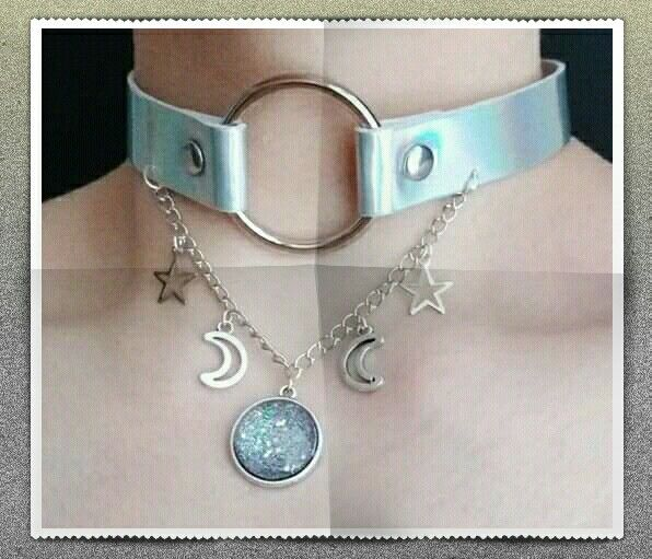 Colar Gargantilha Estrelas Dangling – Ouro Rosa sobre Prata Esterlina   – Style ☆ Scope