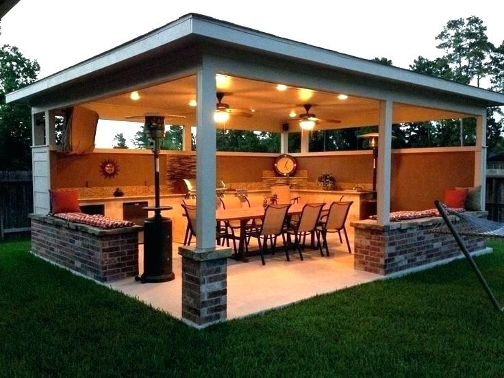 Decoration: Outdoor Covered Patio