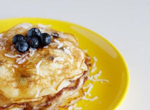 A Single Serve Pancake Recipe - perfect for quiet mornings with the house to yourself!