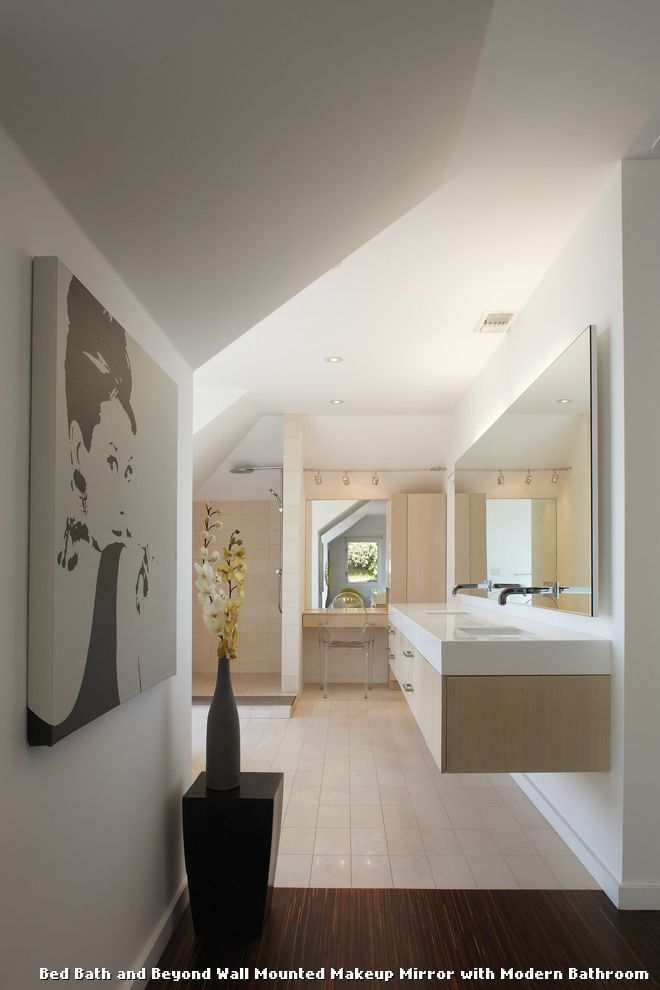 Make Photo Gallery Magnifying Bathroom Mirrors Wall Mounted with Modern Bathroom With