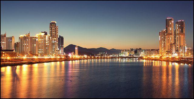 Ulsan's Taehwa River- South Korea