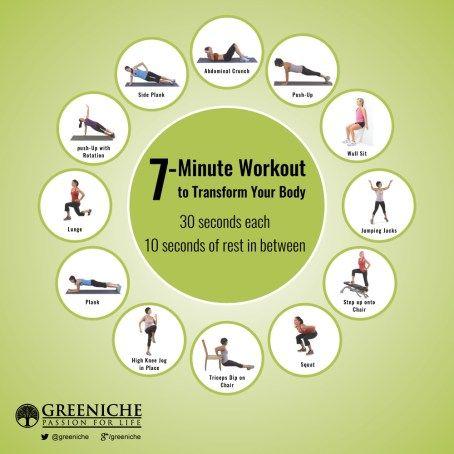 7 Mins Workout Plan!