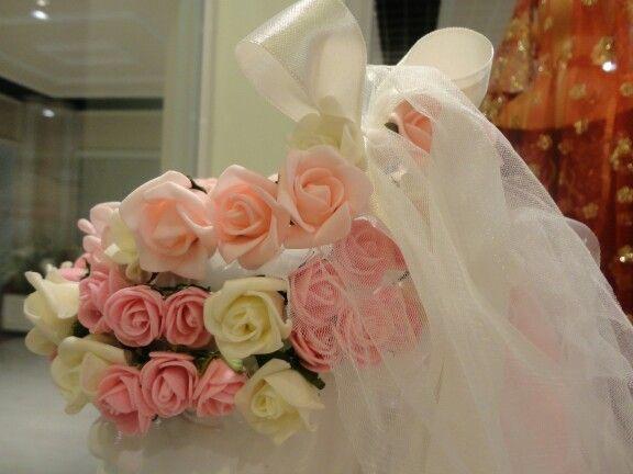 Pembe ve somon Güllerden Nedime taçlarımız  #cicektaci #çiçektacı #nedime #minikkız #kızçocuk #kizcocuk #aksesuar #accessories #bridal #bride #bridalaccesories #düğün #dugun #hairaccessories