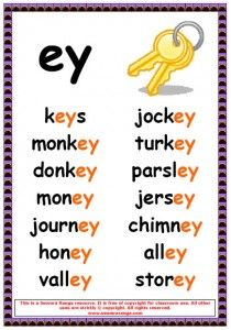 ey phonic poster