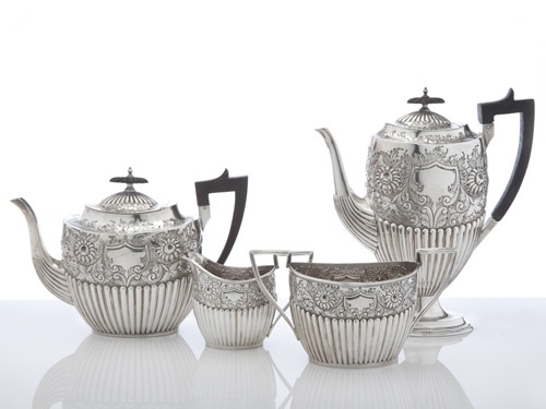 Lovely Victorian coffee and tea set.
