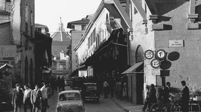 Ponte vecchio firenze florence 1960