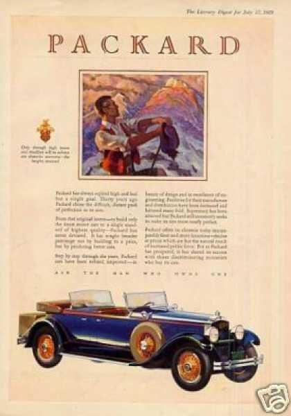 Packard Car Color (1929)