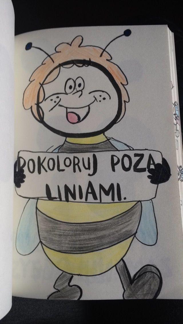 Podesłała Patrizia Kręzel #zniszcztendziennikwszedzie #zniszcztendziennik #kerismith #wreckthisjournal #book #ksiazka #KreatywnaDestrukcja #DIY